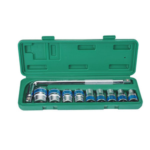 10PCS 12.5MM DR. BLUE-RIM SOCKET SET (CL100910)
